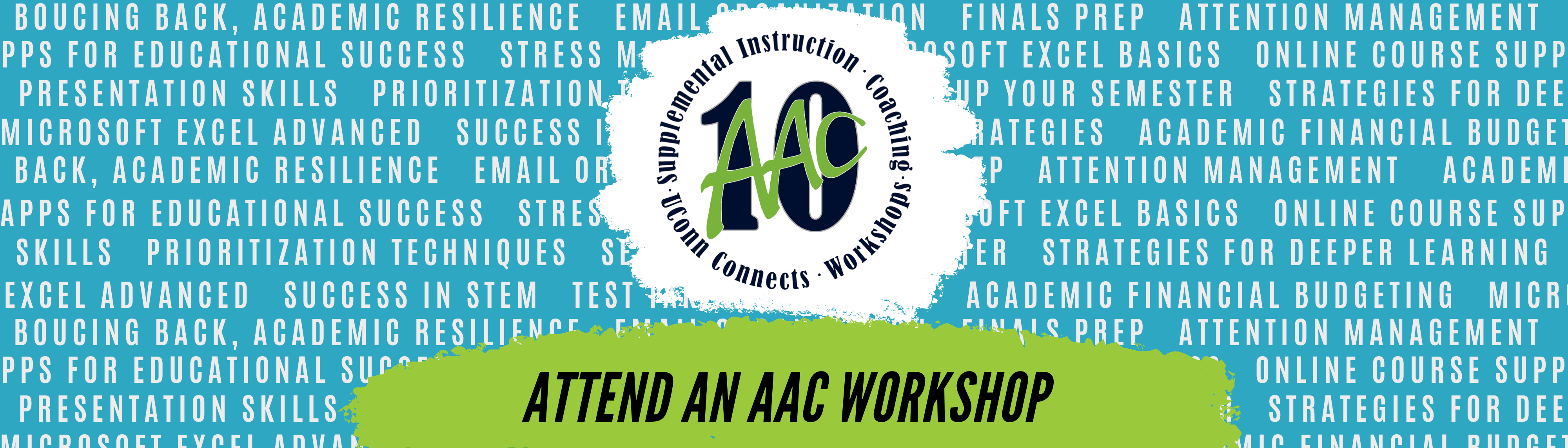 attend an AAC workshop