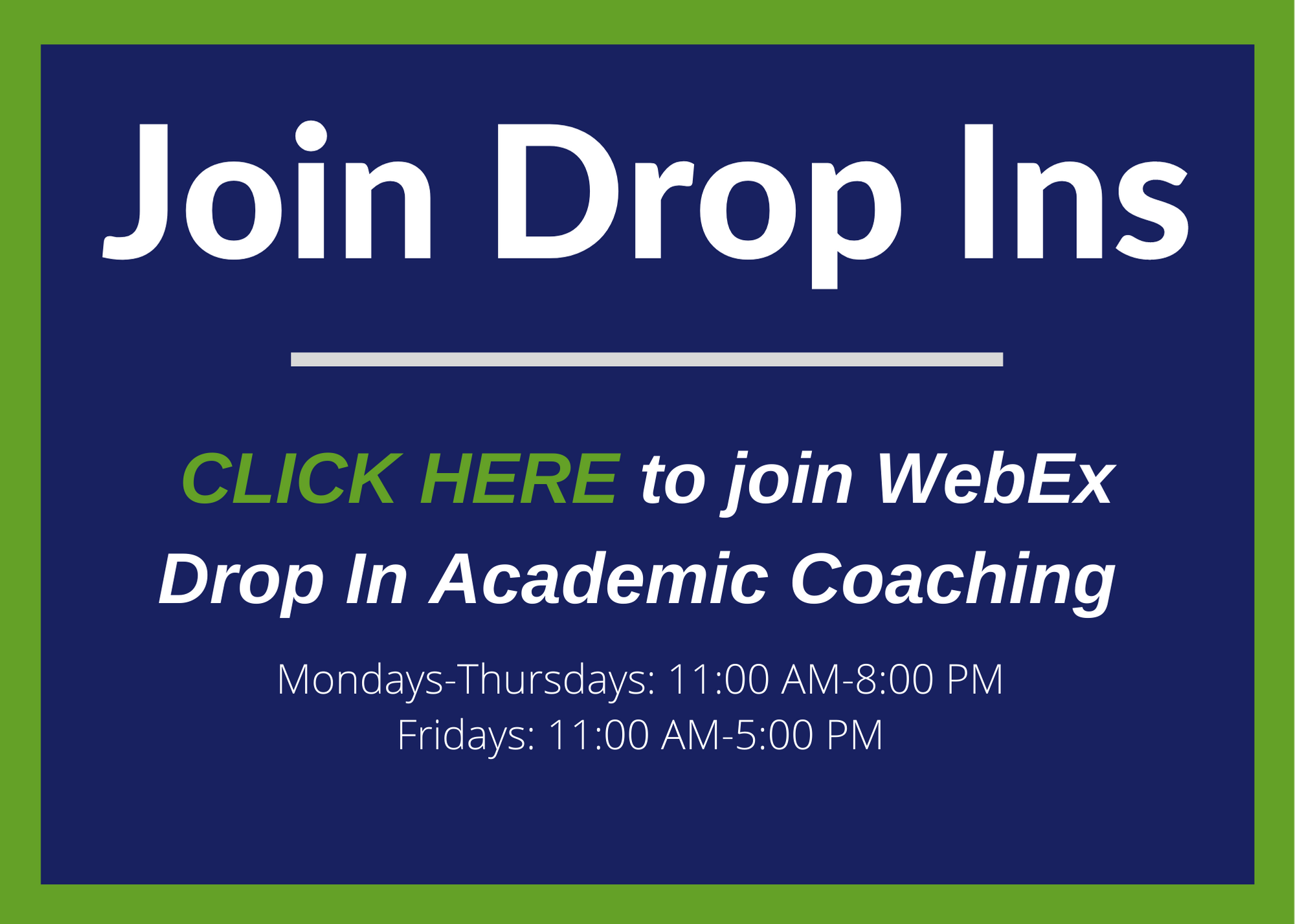 Join Drop In
